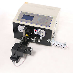 110v Computer Cable Wire Peeling Stripping Cutting Twisting Machine Swt508 nx2