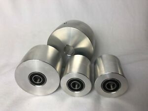 Belt Grinder 2x72 Wheel Set For Knife Grinders