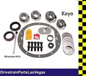 Master Bearing Kit Gm 8 5 10 Bolt With Eaton Duragrip Trutrac Posi 1970 To 1999