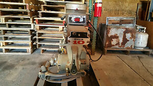Rockwell Delta Radial Arm Saw 3 Phase 460v