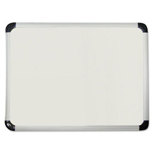 Universal One Porcelain Magnetic Dry Erase Board 48 X 36 White