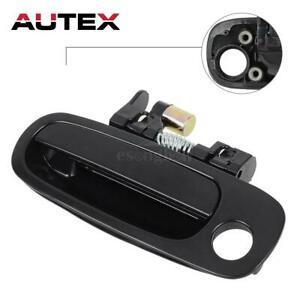 For 98 02 Toyota Corolla Outside Black Front Left Driver Lh Door Handle 80423