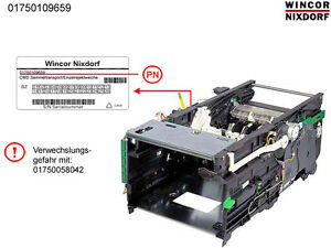 Wincor Atm Cmd Stacker Module With Single Reject Pn 1750109659