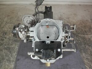 1982 91 Amc American Motors Bbd Carb W Electric Feedback Rebuilt 2 904