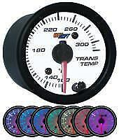 Glowshift White 7 Color Transmission Temperature Gauge 80 270