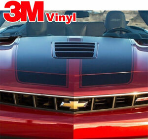 2014 2015 Camaro S sport Style Rally Stripes 3m Vinyl Graphics Decals 3m Ss R