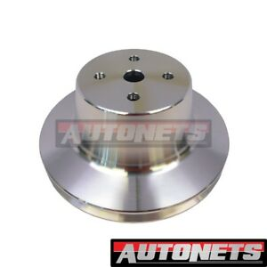 Chrysler Big Block Single 1 groove Aluminum Water Pump Pulley 383 400 426 440