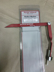 Flange Wizard Radius Marker Small 72800 Pocket Size