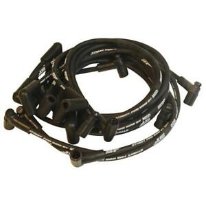 Msd Spark Plug Wire Set 5566 Street Fire 8mm Black For 75 82 Chevy 305 350 Sbc