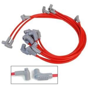Msd Spark Plug Wire Set 31359 Super Conductor 8 5mm Red 90 Hei For Chevy Sbc