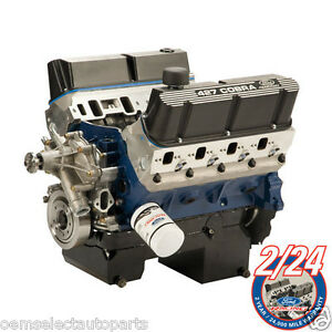 Oem New Ford Racing 427 Cubic Inch 535hp Windsor V8 Sbf Engine Mustang 302 351