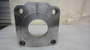 Cylinder End Block 6 Square X 1 60 Thick