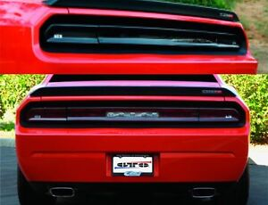 2 Dodge Challenger 08 2014 Tail Light Covers Smoked Gt Styling Gt4163