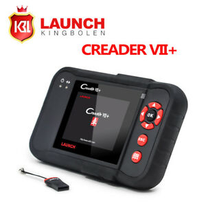 Launch X431 Creader Vii Auto Code Reader Engine Diagnostic Tool As Crp123