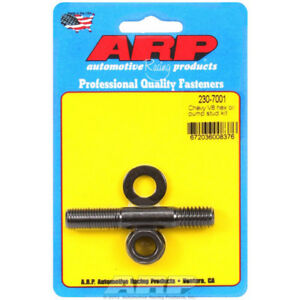 Arp Oil Pump Stud 230 7001 Hex Head Black Oxide 8740 Chromoly For Chevy Sbc