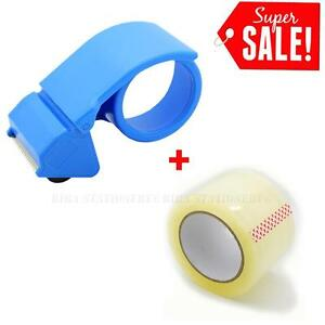 2 Inch Packing Tape Dispensers Gun Cutter Portable Sealing Handheld With 2 Tape
