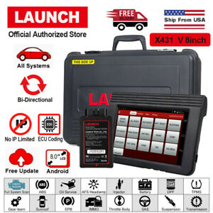 Launch X431 V Pro Mini 8 Inch Diagnostic Scanner Multi Language Epb Dpf Sas Srs