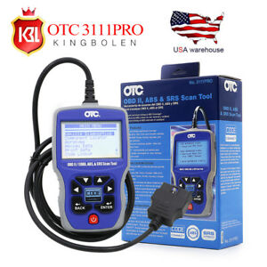 Otc 3111 Pro Obd2 Diagnostic Scanner Can Abs Srs Car truck Code Reader Scan Tool