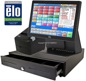 Pcamerica Rpe Pos Elo Restaurant Bar Bakery All in one Station Complete New