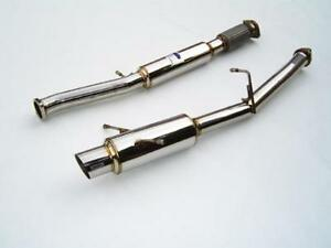 Invidia N1 Catback Exhaust For 02 07 Impreza Wrx Sti stainless Tip