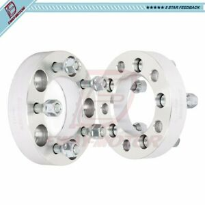 4pc 2 Inch 5x4 5 Wheel Spacers Adapters 1 2 Studs For 5x114 3 Ford Jeep Lincoln