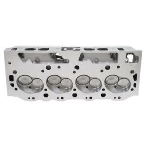 Edelbrock Cylinder Head Assy 60459 Performer Rpm 454 0 290cc 110cc For Bbc