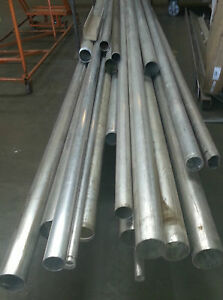 Alloy 6061 t651 Surplus Aluminum Tube 4 X 125 X 90 gr