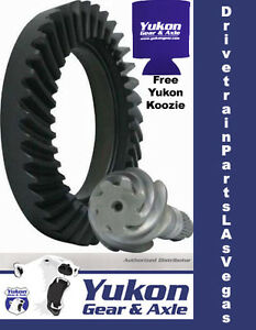 Yukon Ring Pinion Gear Set For Ford 8 8 Reverse Rotation In A 4 11 Ratio