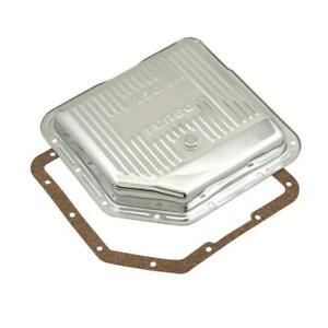 Mr Gasket Automatic Transmission Oil Pan 9761 None Chrome Steel For Gm Th 350
