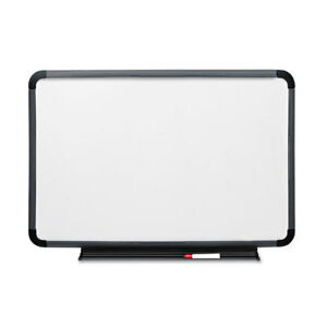 Ingenuity Dry Erase Board Resin Frame With Tray 48 X 36 Charcoal