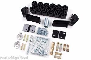 Zone Offroad 3 Body Lift Kit 95 96 97 98 Chevy Gmc Suburban Yukon Xl Tahoe 4x4