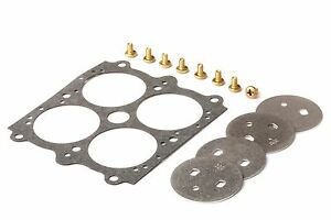 New Holley 4 Barrel Throttle Plate Kit 26 96