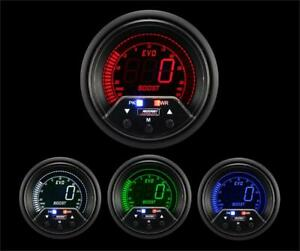 Prosport 60mm Premium Evo Electrical Boost Gauge 238evobo Pkr Psi