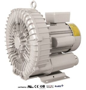 Pacific Regenerative Blower Pb 201 hrb 201 Ring Vacuum And Pressure Blower