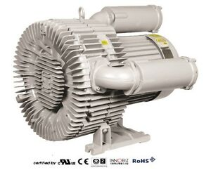 Pacific Regenerative Blower Pb 1102 hrb 1102 Ring Vacuum And Pressure Blower