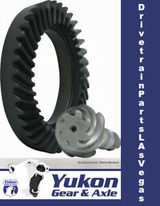 High Performance Yukon Ring Pinion Pro Gear Set For Ford 9 In A 4 11 Ratio