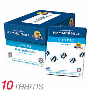 Copy Paper 2 Cases 20 Reams 10 000 Sheets 8 1 2 X 11 Today Only