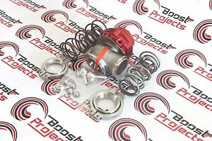 Tial 304l Stainless Mvs 38mm Red Authentic Wastegate W V Band Flanges 002955