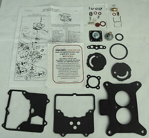 2100 2brrl Ford Mercury Autolite Motorcraft Carb Kit 289 302 351 390 427 Mustang