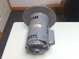 Marathon Boiler 1 Hp 1 Ph Motor Impeller Pump Fan Model 7pj Frame 56 11 Freeship