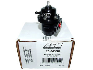 Aem 25 303bk Fuel Pressure Regulator For Honda Acura