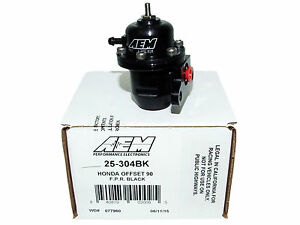 Aem 25 304bk Fuel Pressure Regulator For Honda Acura F22b1 F22b2 D16y8 B20b4