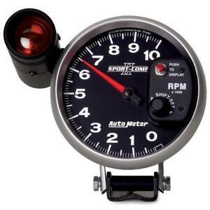Auto Meter Tachometer Gauge 3699 Sport comp Ii 0 To 10000 Rpm 5 Electrical