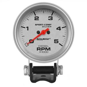 Auto Meter Tachometer Gauge 3788 Ultra lite 0 To 5000 Rpm 2 5 8 Electrical