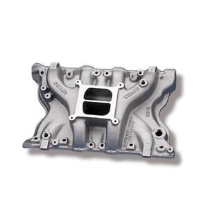 Weiand Intake Manifold 8010 Action Oval Port Satin Aluminum For Ford 351m 400
