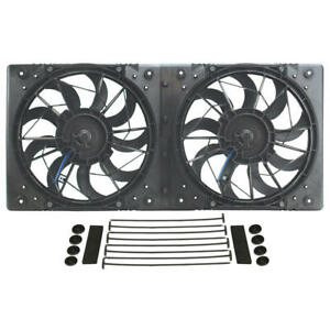 Derale Cooling Fan Assembly 16812 High Output Rad Shrouded 2x10 Dual Electric