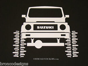Suzuki Samuraijx Rock Crawlersamisticker Decal 05