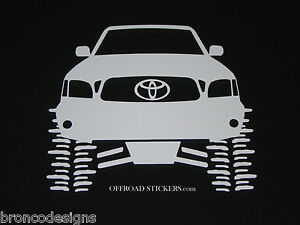 Toyota Tacoma Flexingtrdlifted Rock Crawlersticker Decal 20