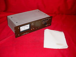 Keithley 25004 Logarithmic Picoammeter W manual Very Low Amperage Measurement 1