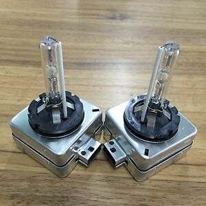 One Pair D1s D1r Oem Hid Xenon Headlight Replacement For Philips Or Osram Bulbs